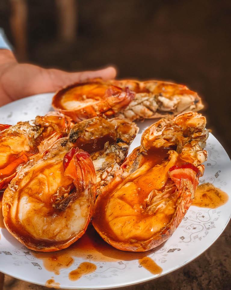 Karbische Kueche Lobster