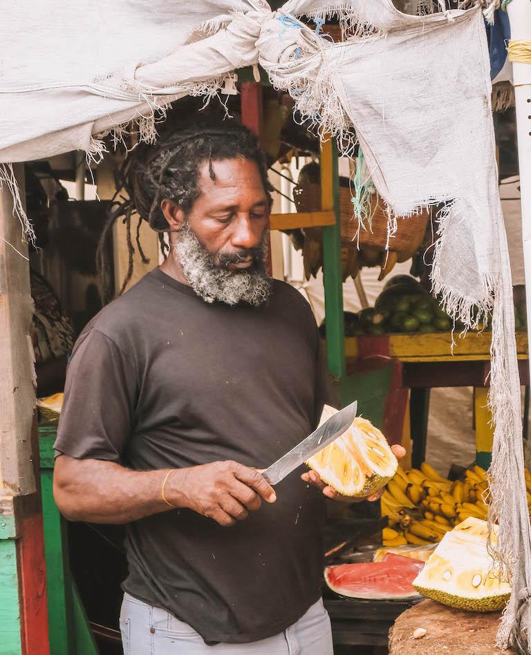 Karibische Kueche Jackfruit
