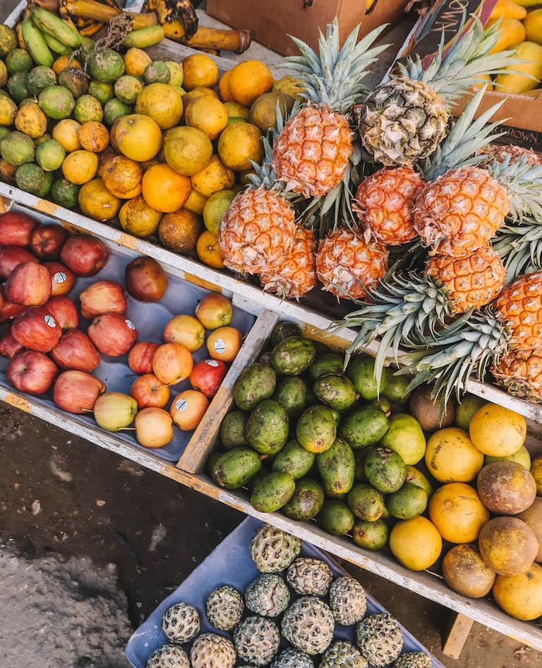 Karibische Kueche Obst Jamaika