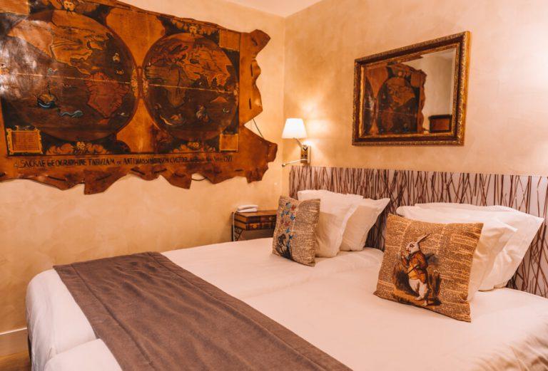 Le Pavillon Hotel Paris Bett