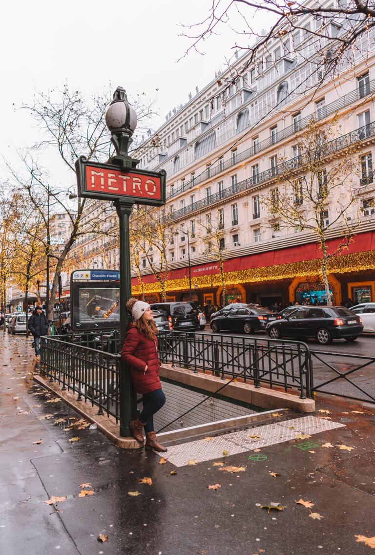 Metro Station Galeries Lafayette