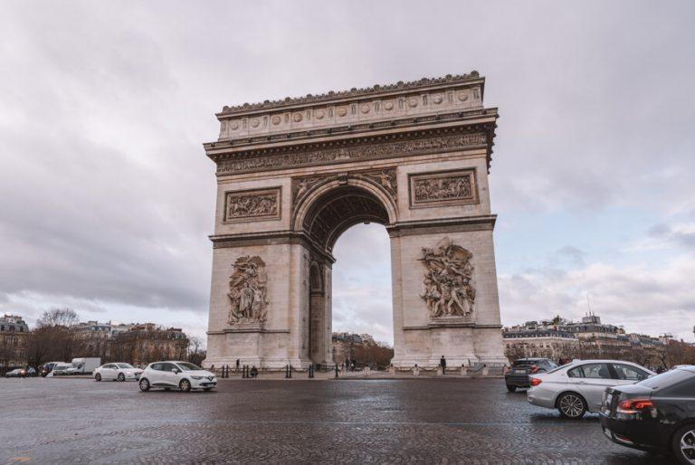 Paris Frankreich Triumphbogen
