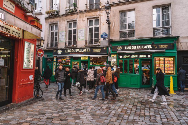 Paris Marais Falafel Restaurant