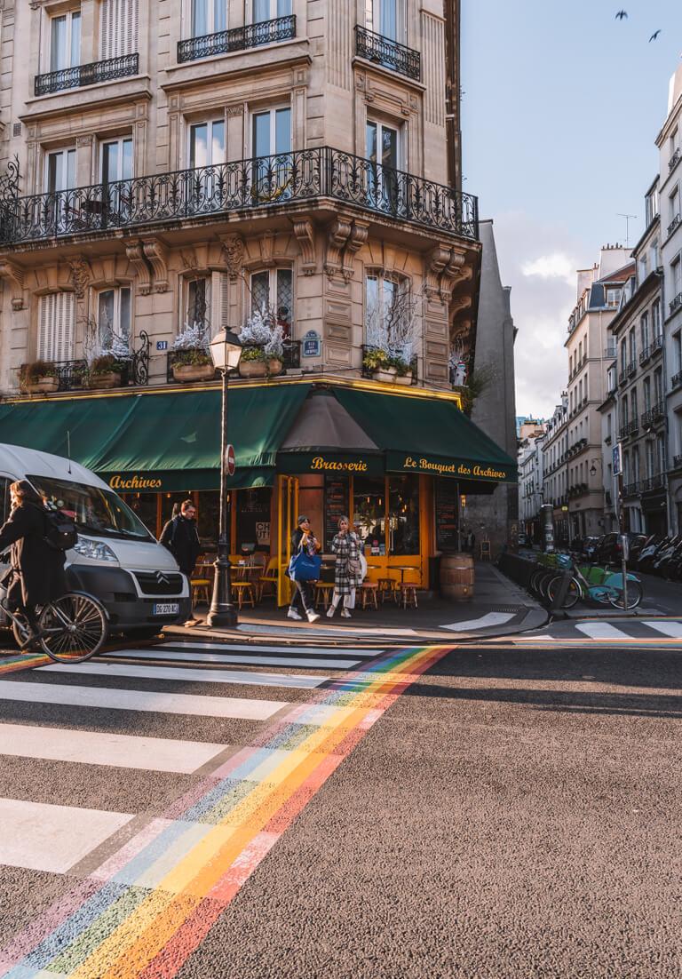 Paris Marais juedisches Viertel
