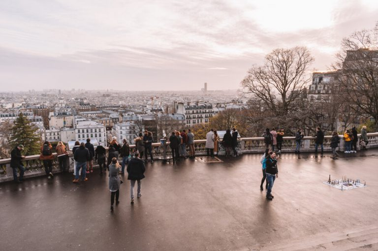 Paris Montmartre Aussichtspunkt