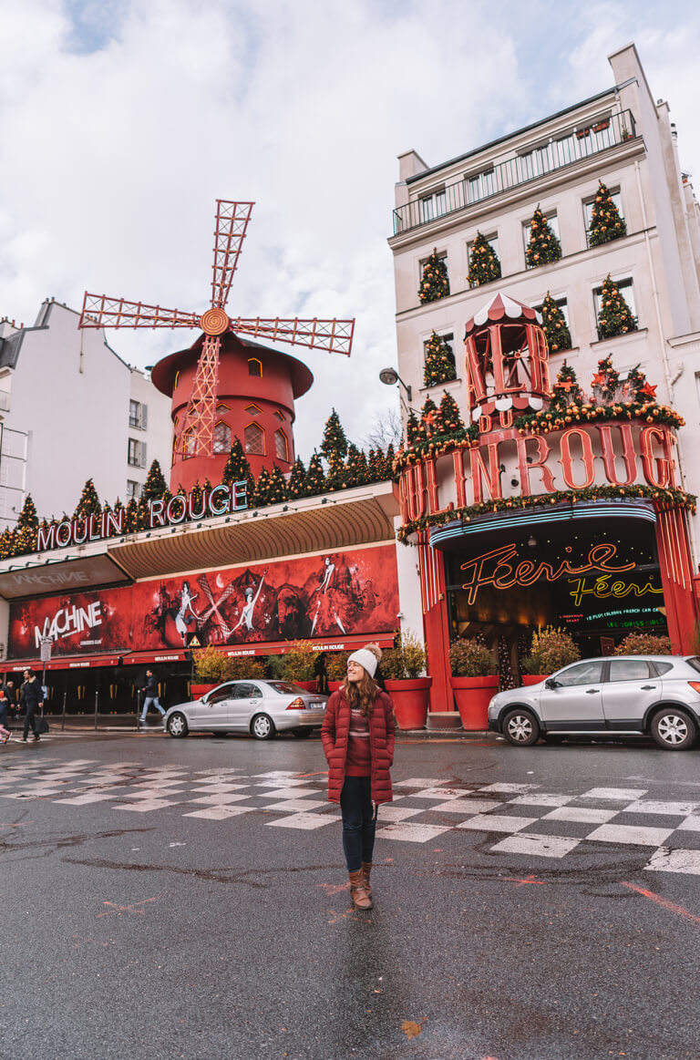 Paris Montmartre Moulin Rouge