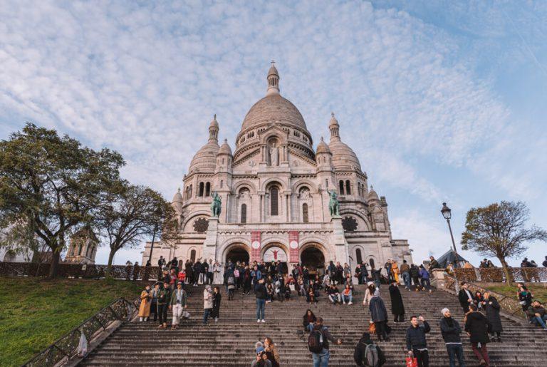 Paris Montmartre Sacre Coeur
