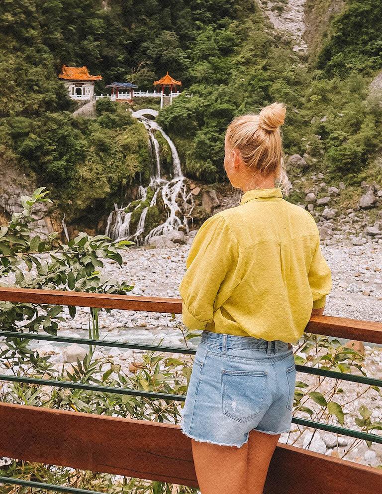 Schrein ewiger Fruehling Taroko Nationalpark