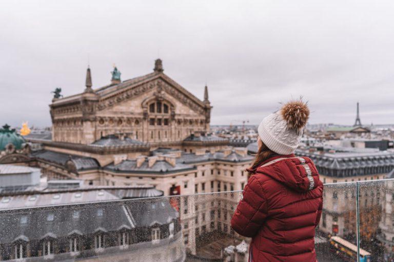 Sehenswuerdigkeiten Paris Galeries Lafayette Aussicht