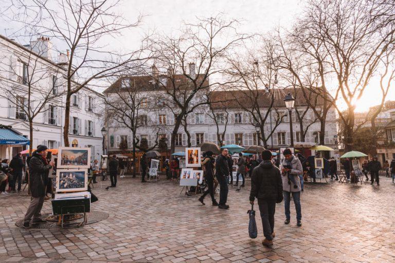 Sehenswuerdigkeiten Paris Place du Tertre
