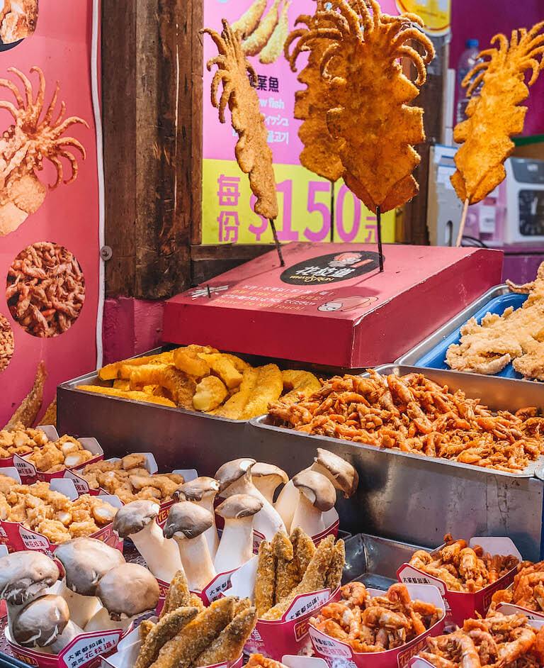 Streetfood Jiufen Taiwan
