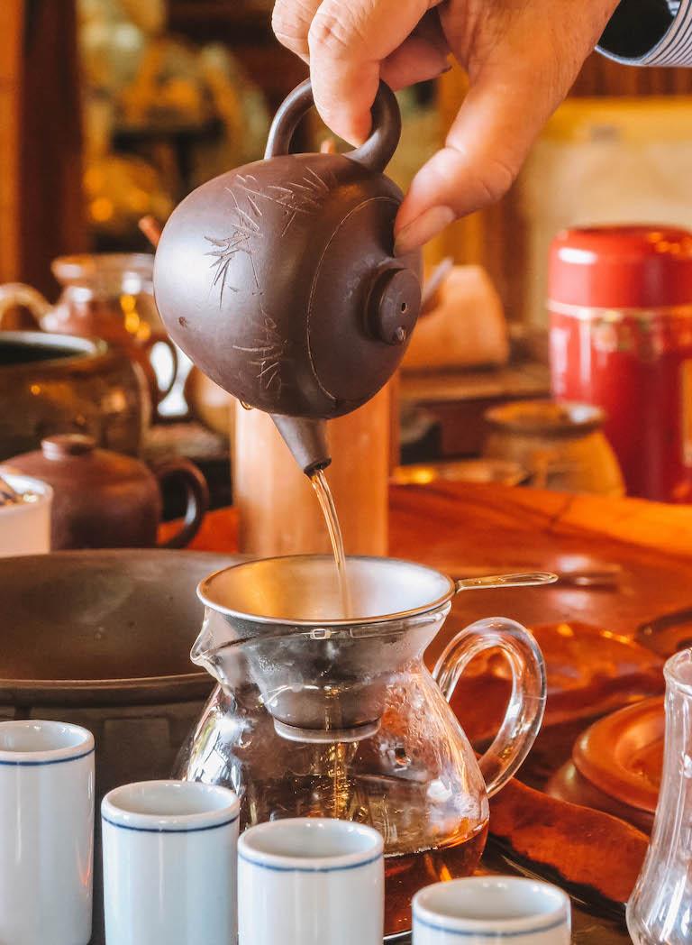 Taipeh Sehenswuerdigkeiten Teezeremonie
