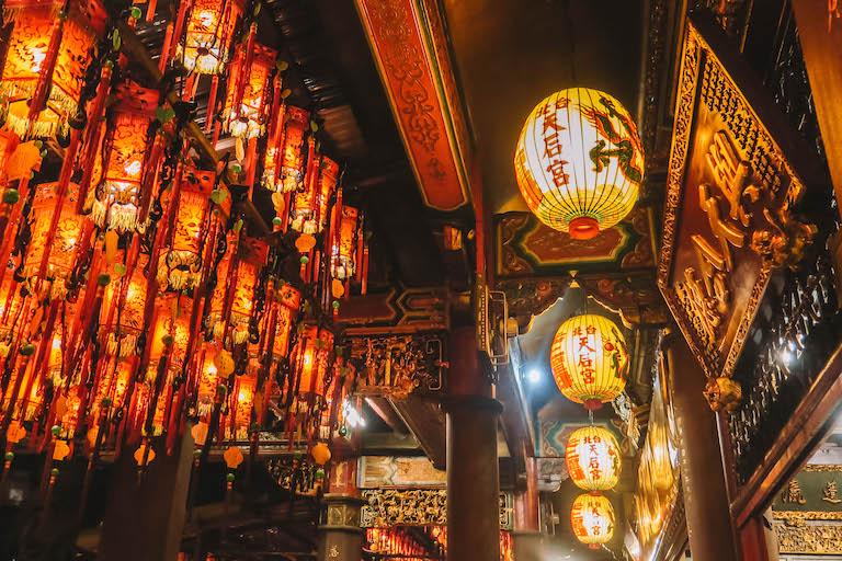 Taipeh Ximending Tempel