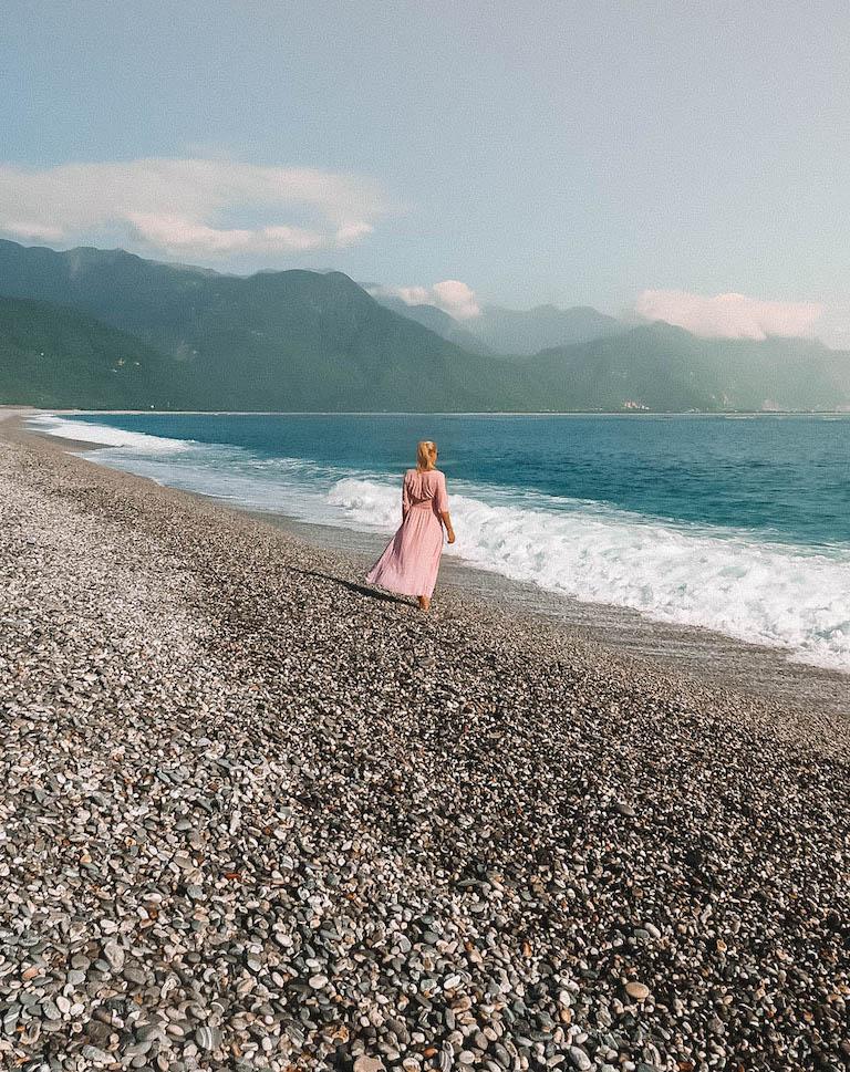 Taiwan Reisen Qixingtan Beach