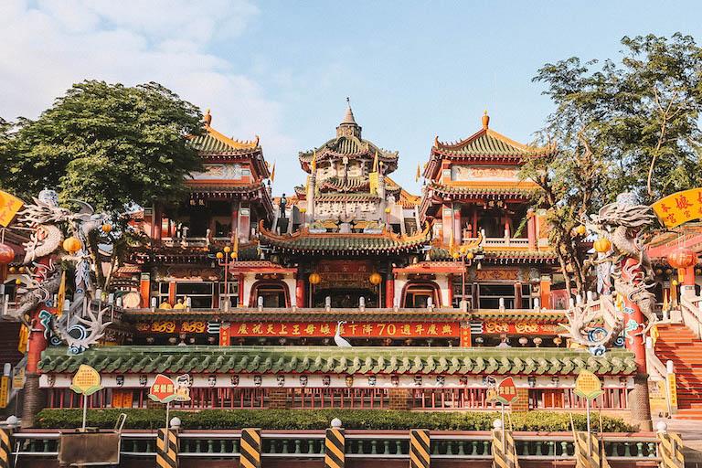 Taiwan Reisen Tempel Hualien