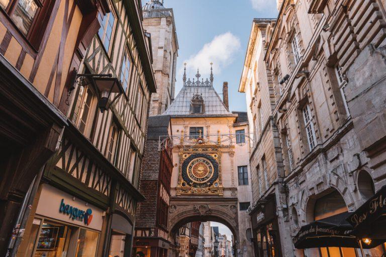 Uhrturm Rouen Le Gross Horloge