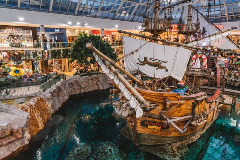 West Edmonton Mall Piratenschiff