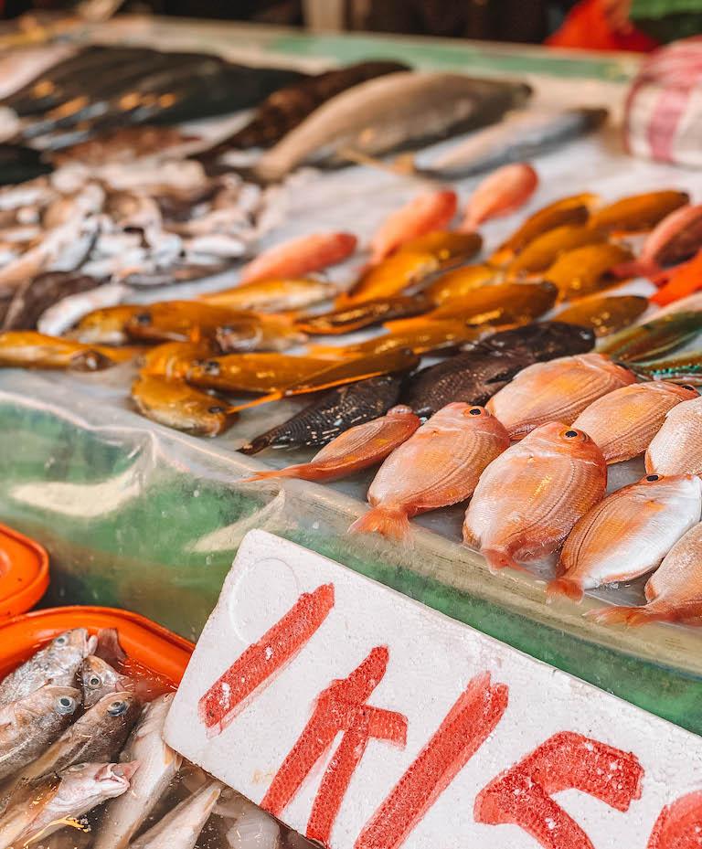 Yilan Morning Market Fisch