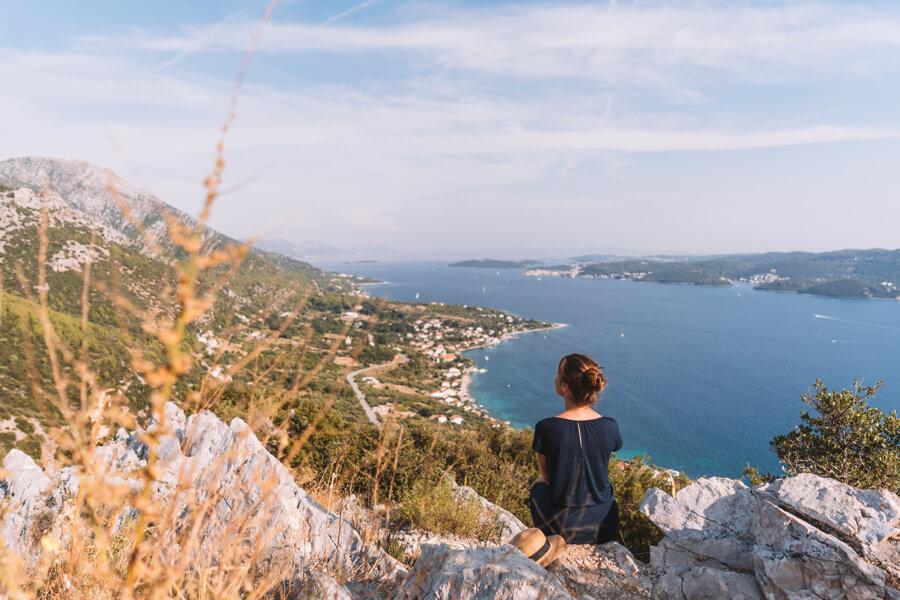 Aussichtspunkt Peljesac