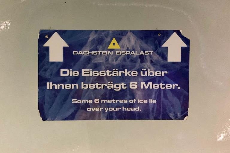 Dachstein Gletscher Ice Cave