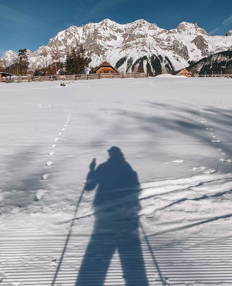 Dachstein Langlaufen