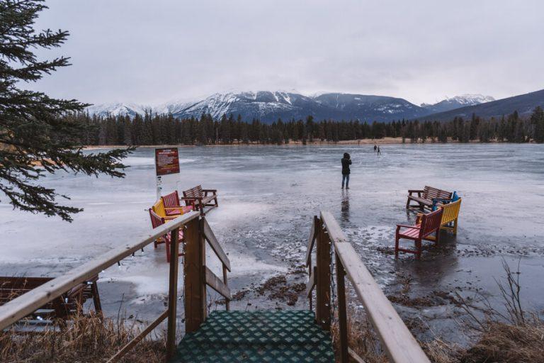 Fairmont Jasper Park Lodge Schlittschuhlaufen