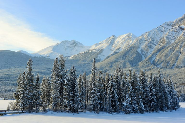 Jasper Pyramid Lake