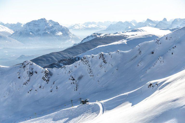 Marmot Basin Skigebiet Kanada