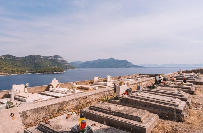Peljesac Kroatien Friedhof