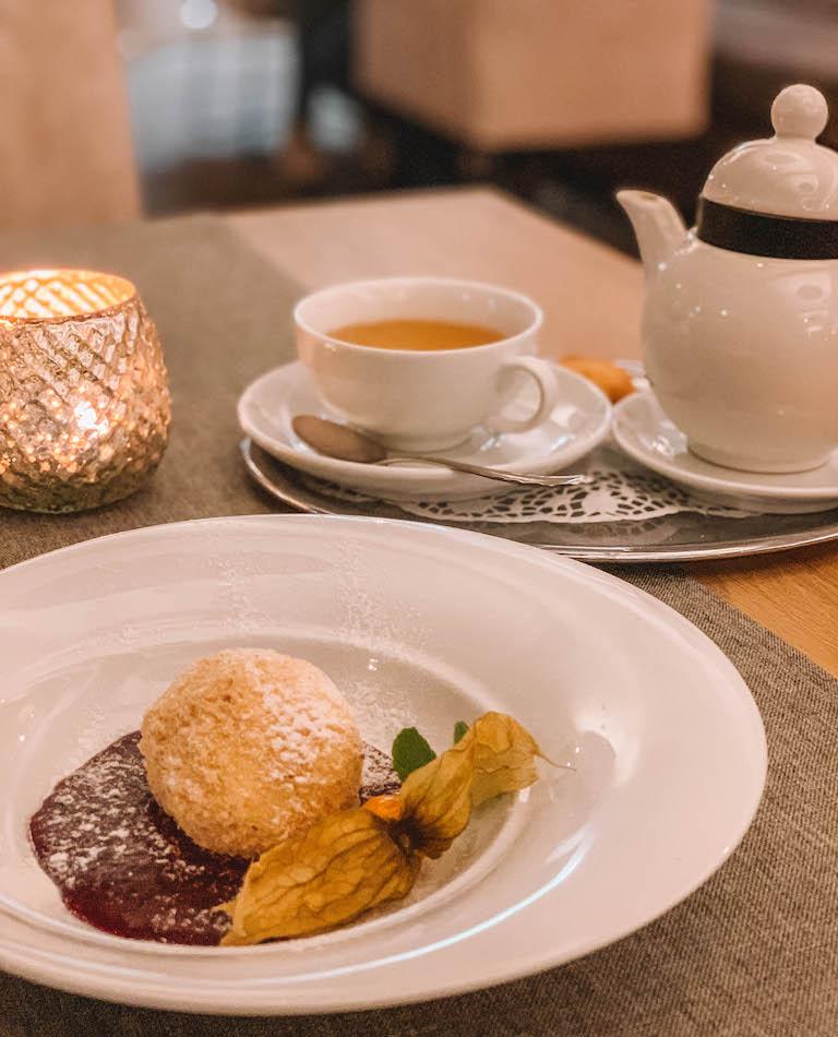 Ramsau am Dachstein Hotel Annelies Abendessen Dessert