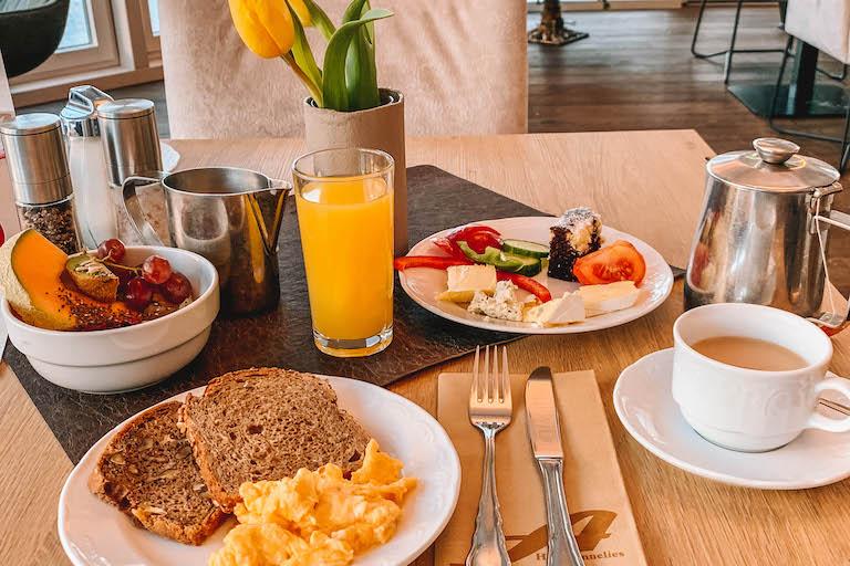 Ramsau am Dachstein Hotel Annelies Fruehstueck Buffet