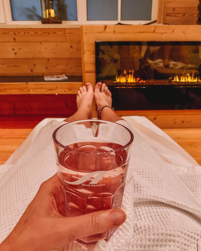 Ramsau am Dachstein Hotel Annelies Wellness Ruheraum