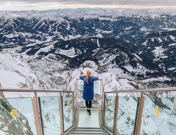 Ramsau am Dachstein Treppe ins Nichts Panorama