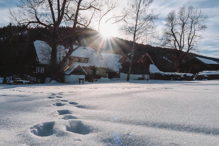 Ramsau am Dachstein Winterwanderung