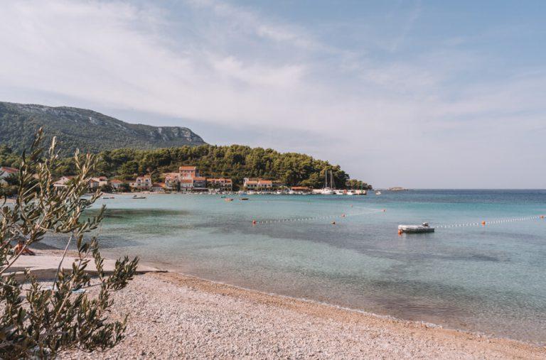 Zuljana Strand Halbinsel Peljesac Kroatien