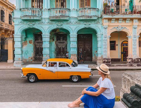 Havanna El Prado bunte Haeuser