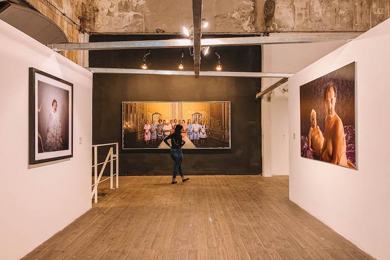 Havanna Fabrica de Arte Cubano Ausstellung