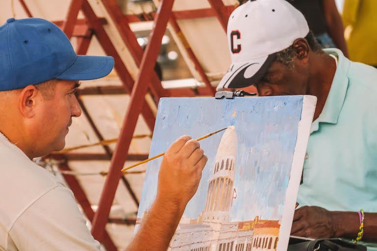 Havanna Kuba Maler