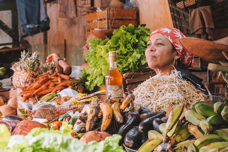 Havanna Kuba Marktfrau