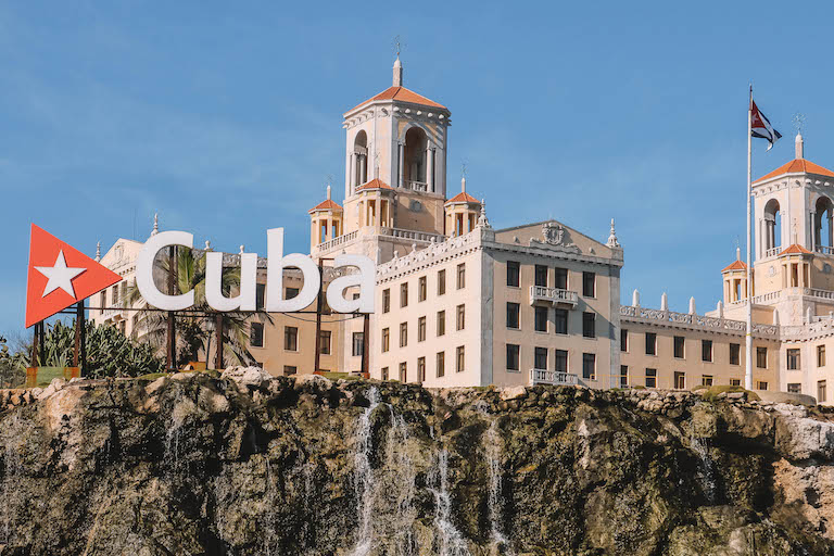 Havanna Kuba Schild