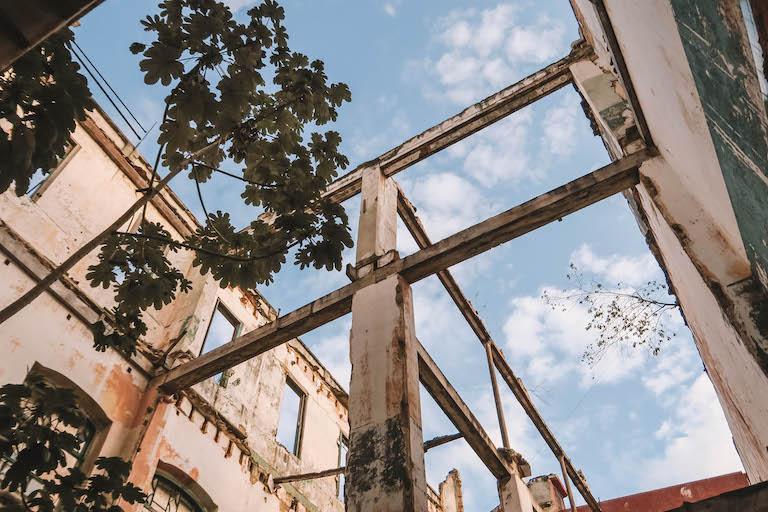 Havanna Ruine Haus