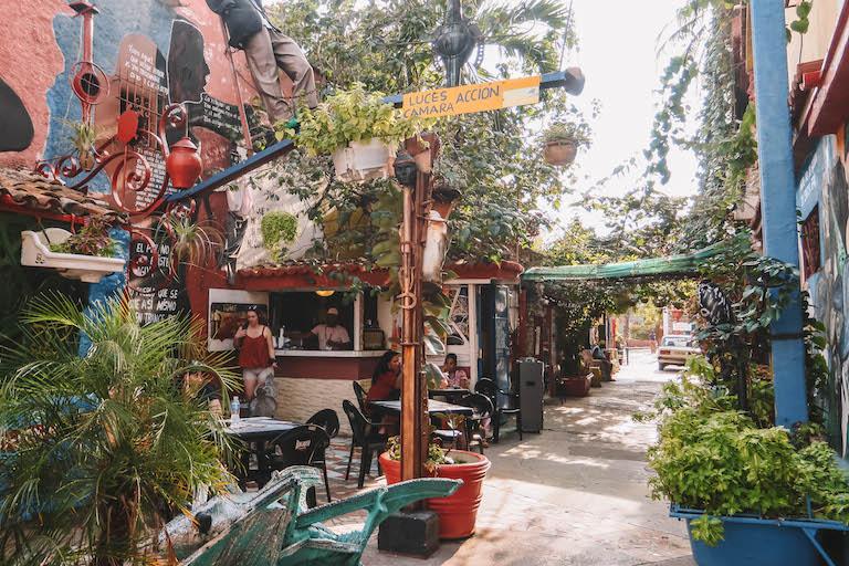 Havanna Sehenswuerdigkeiten Callejon de Hamel Streetart