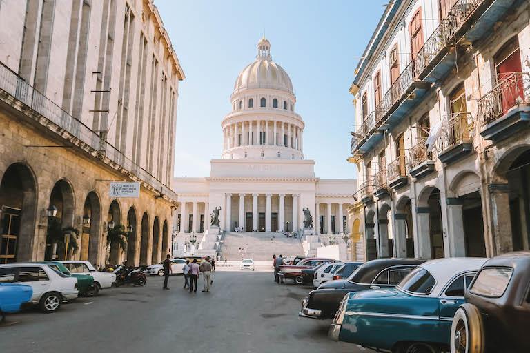 Havanna Sehenswuerdigkeiten El Capitolio