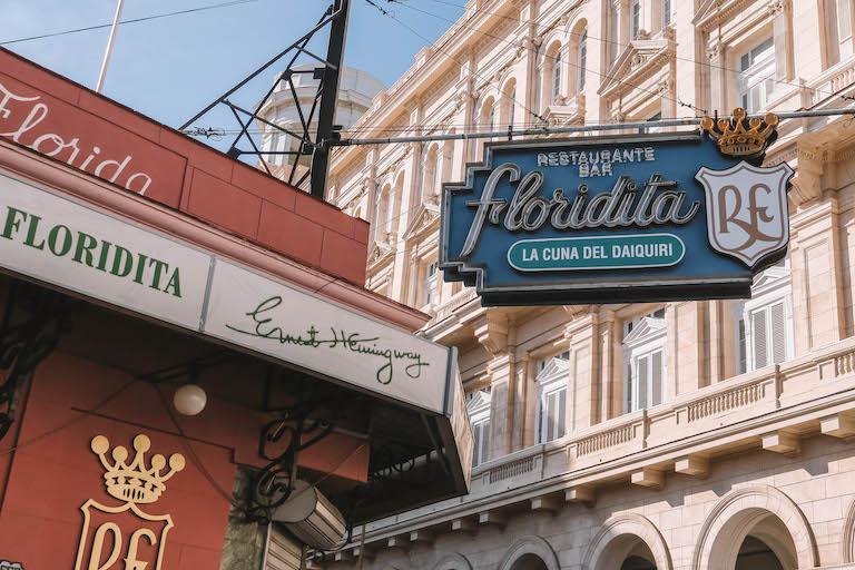 Havanna Sehenswuerdigkeiten El Floridita