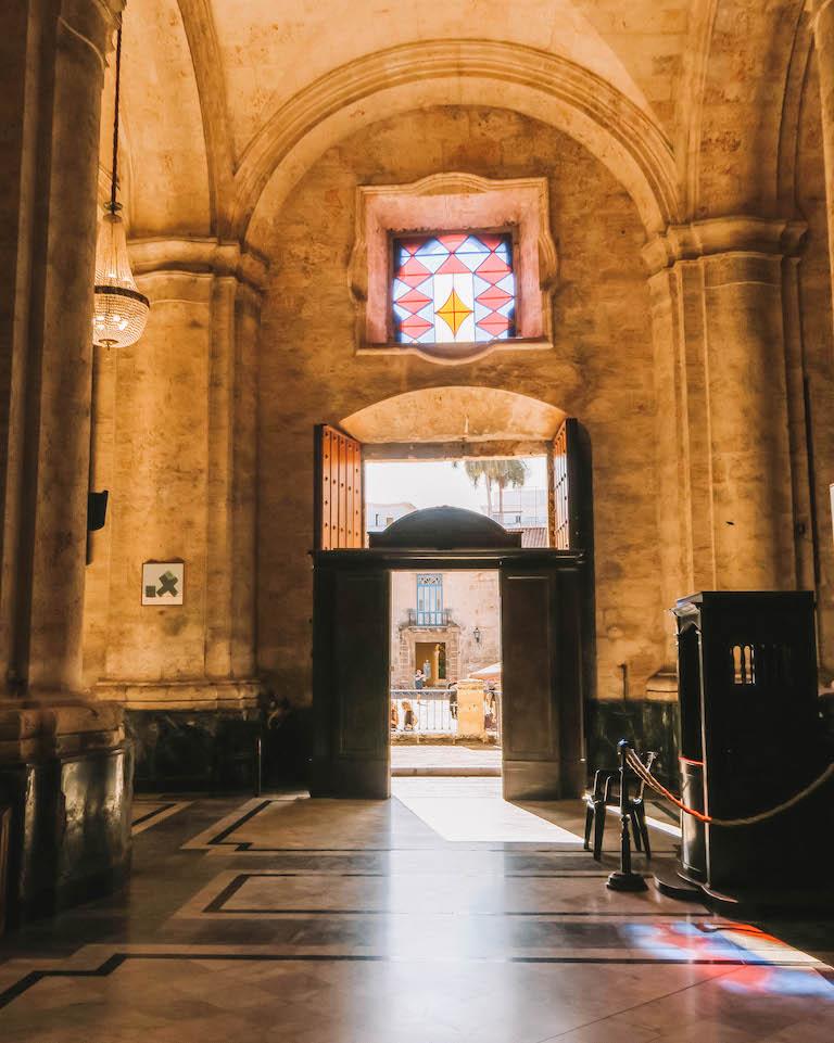 Havanna Sehenswuerdigkeiten Kirche