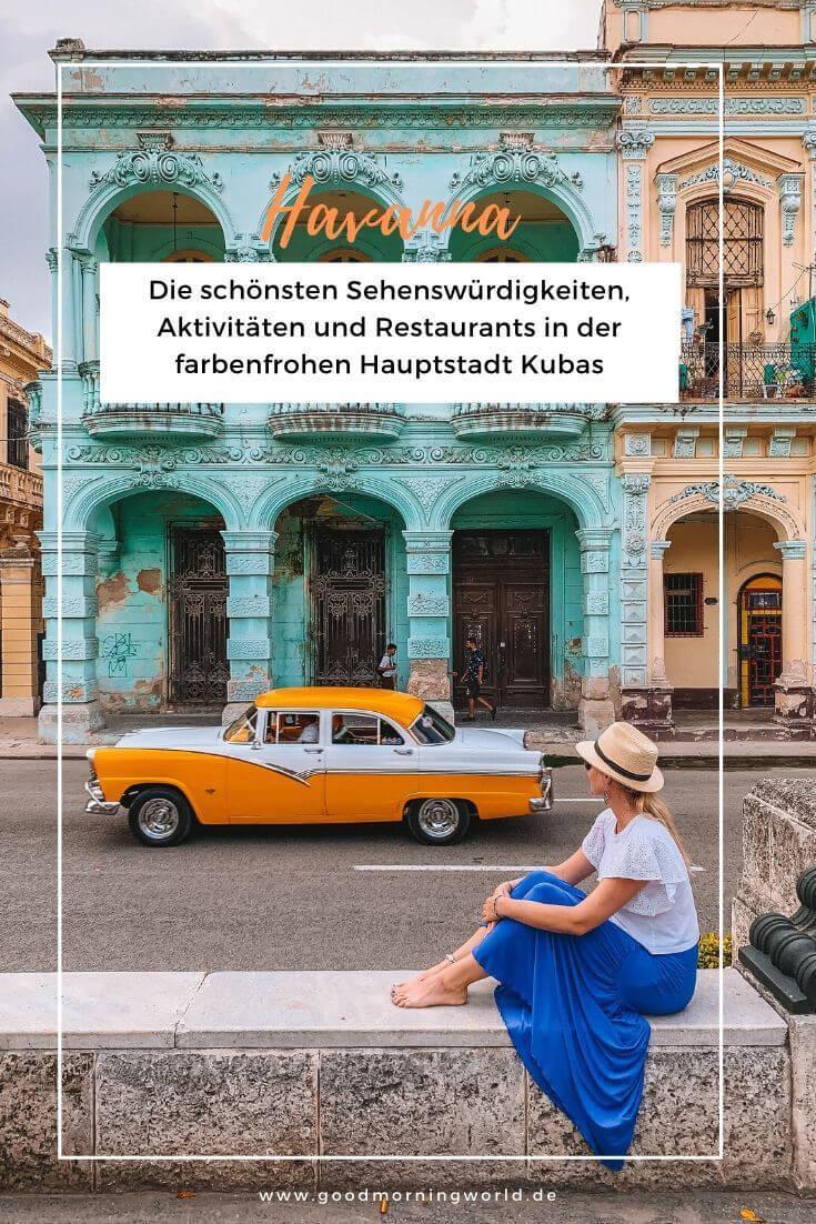 Havanna Sehenswuerdigkeiten Kuba