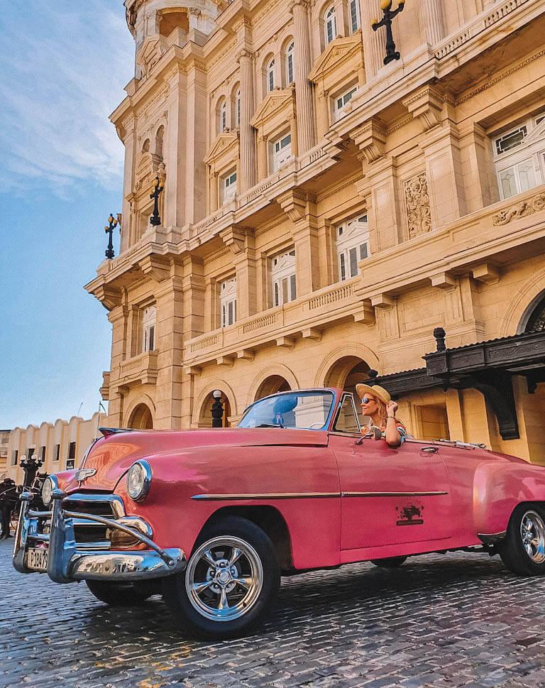 Havanna Sehenswuerdigkeiten Oldtimer