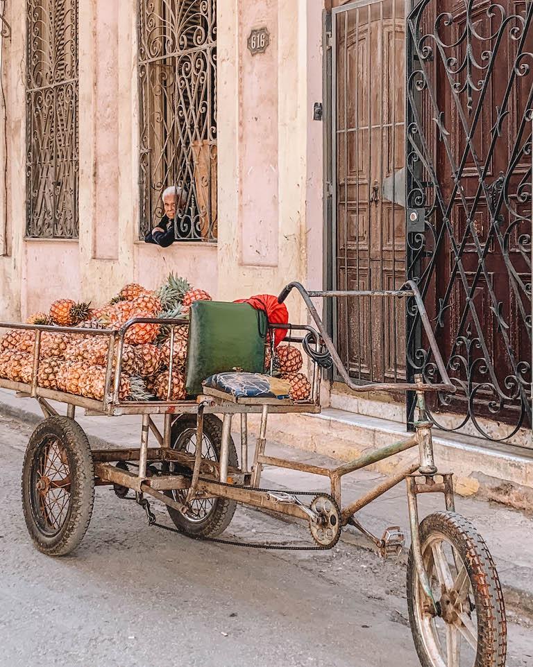 Havanna Strassenverkauf