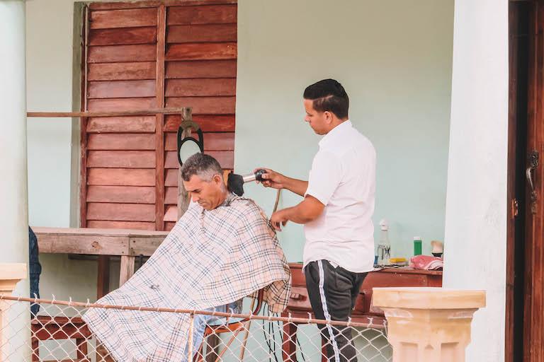 Kuba Friseur