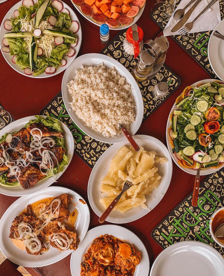 Kuba Lunch